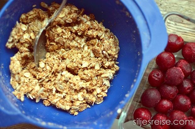 Kirsebær smuldrepai blogg 2
